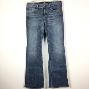 7 for all mankind Jeans flare 30 bootleg wide